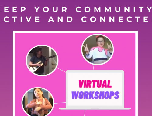 Our Virtual Workshops are a great way to keep your community active and connected!