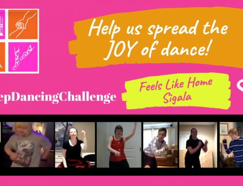 #KeepDancingChallenge – Week 10: Feels like home when we are dancing with you!