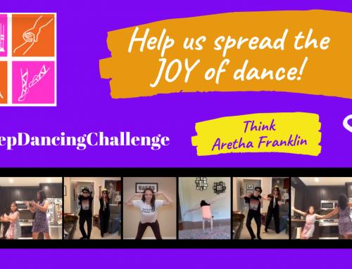 #KeepDancingChallenge – June: Let yourself be free!