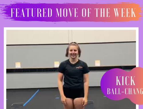 Featured move of the week – Kick Ball-Change!