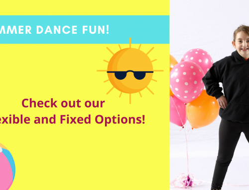 Fill Your Summer with Lots of DANCE and FUN!