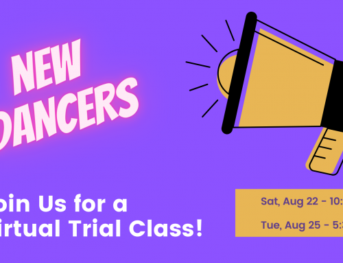 New Dancers, Join Us for a Virtual Trial Class!